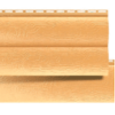 Сайдинг блок-хаус 1 переломный Золотистый