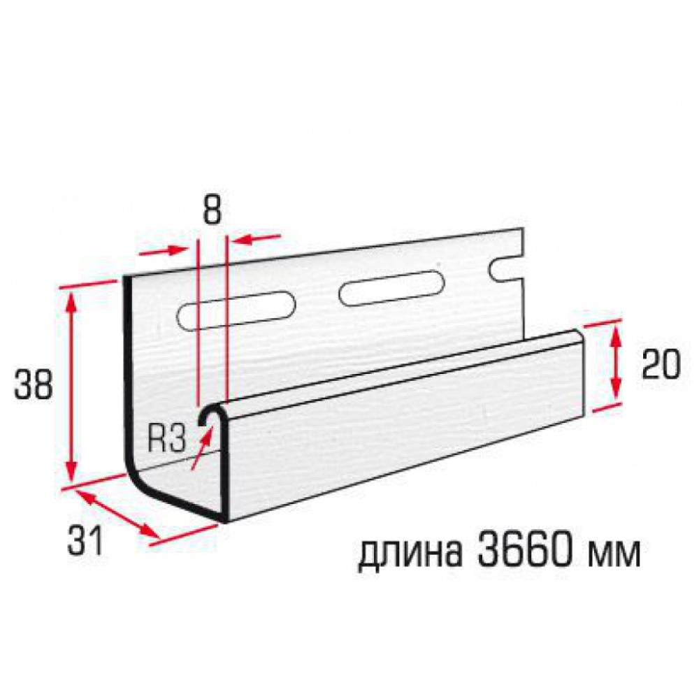 Планка J-trim alta Siding