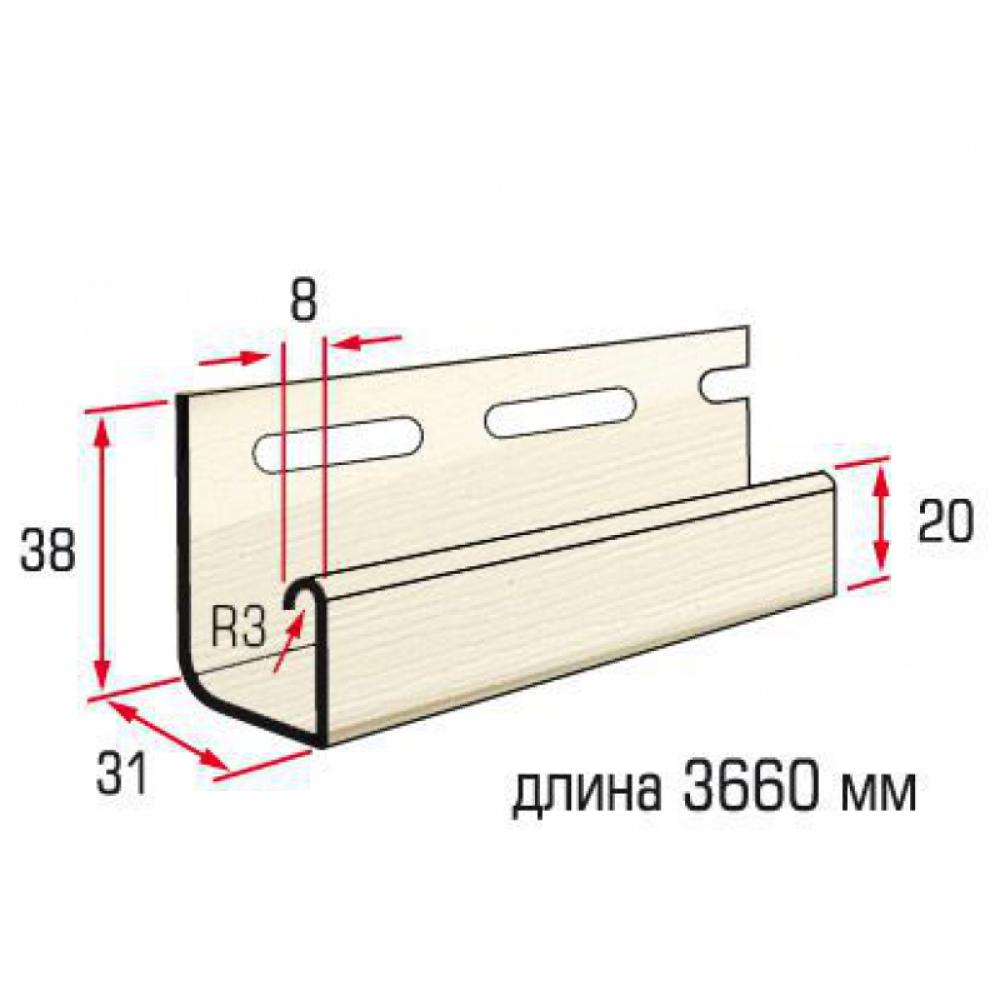 Планка J-trim Flex