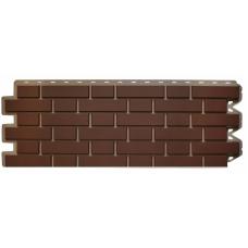Сайдинг цокольный Клинкерный кирпич коричневый