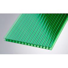 Поликарбонат Ultramarin 10мм Зелёный