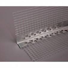 Угол металл с сеткой 100*100мм*2,5м