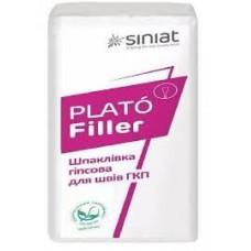 Шпаклёвка гипсовая PLATO FILLER 25кг.