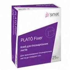 Клей для гипсокартона Plato Fixer 25кг.