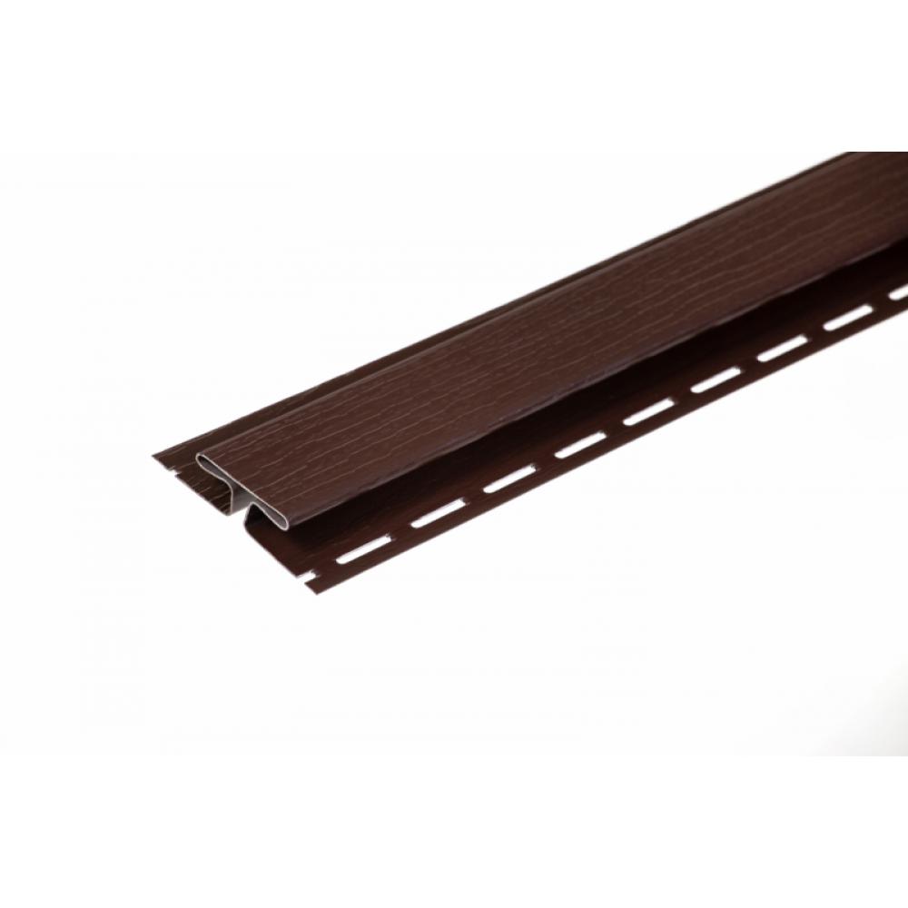 Планка соединительная коричневая New Way 3м