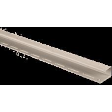 Планка J-trim бежевый Альта-Профиль 3,66м