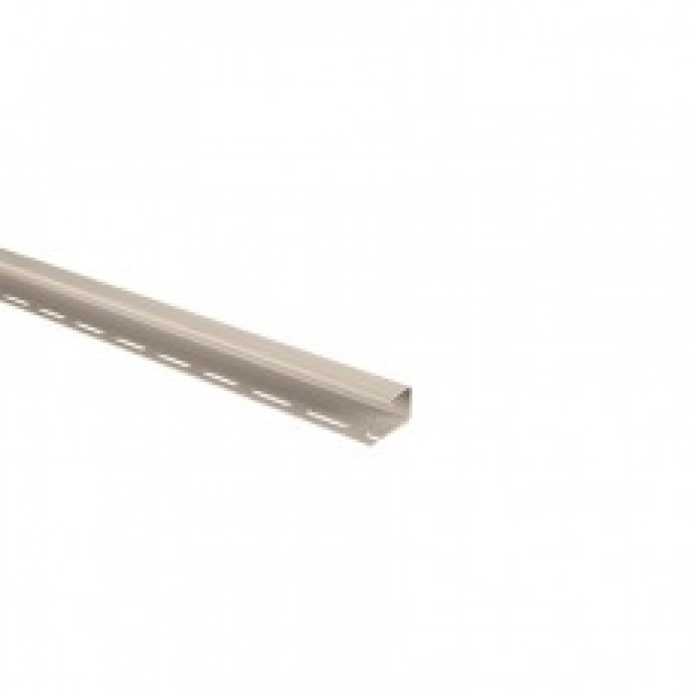 Планка J-trim кремовый Альта-Профиль 3,66м
