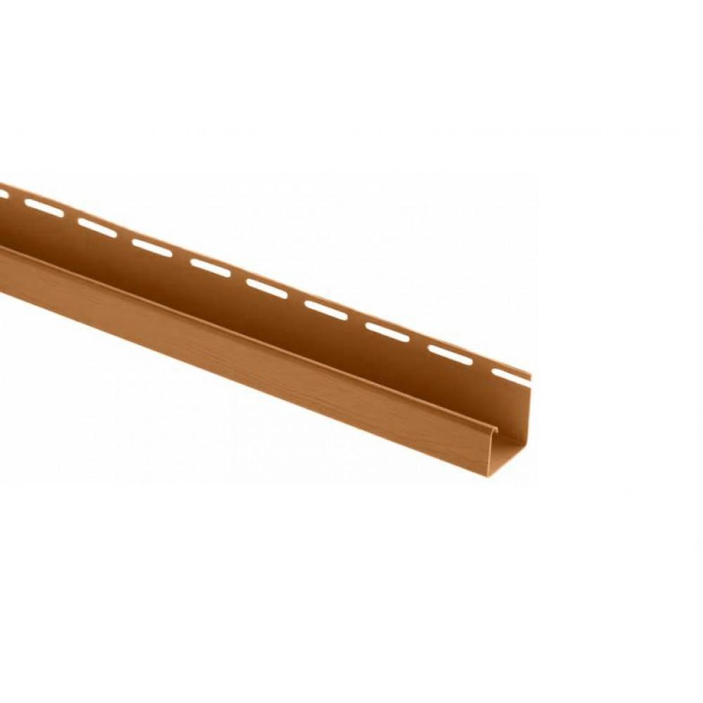 Планка J-trim дуб светлый Альта-Профиль 3,66м