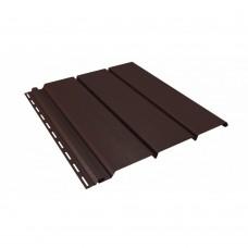 Софит коричневый без перфорации New Way 0,3*3м (0,9м2)
