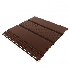Софит коричневый перфорированый New Way 0,3*3м (0,9м2)