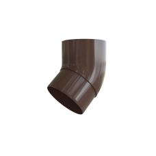 Колено трубы Альта 95/45' коричневое