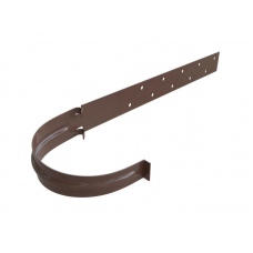 Кронштейн желоба металл Альта 125 коричневый