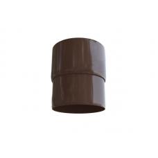 Муфта трубы Альта 95 коричневая