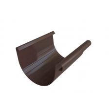 Желоб Альта 125 коричневый