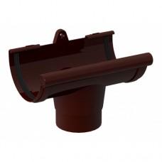 Воронка желоба NewWay 120 коричневая