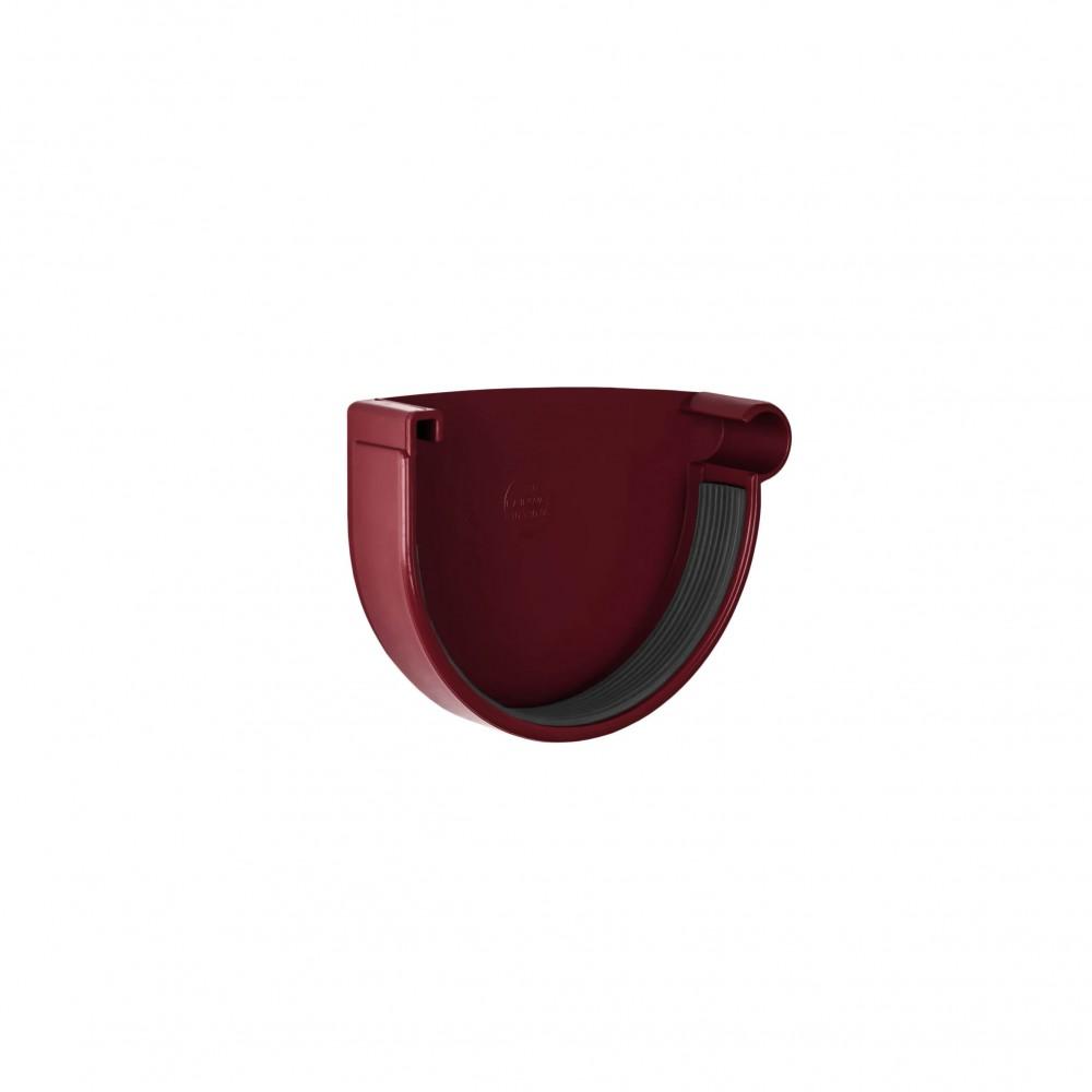 Заглушка желоба правая NewWay 120 красная